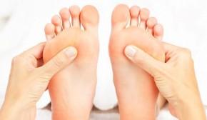 Fußreflexzonen Massage und Blockadenauflösung